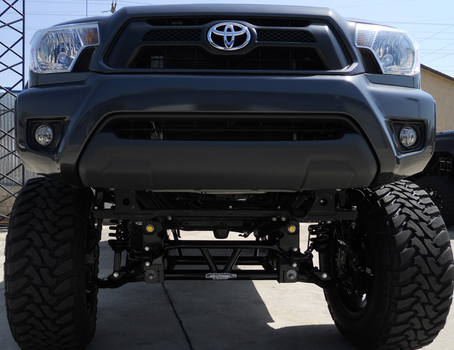 2005 2018 Toyota Tacoma 10 12 Inch Bulletproof Lift Kit