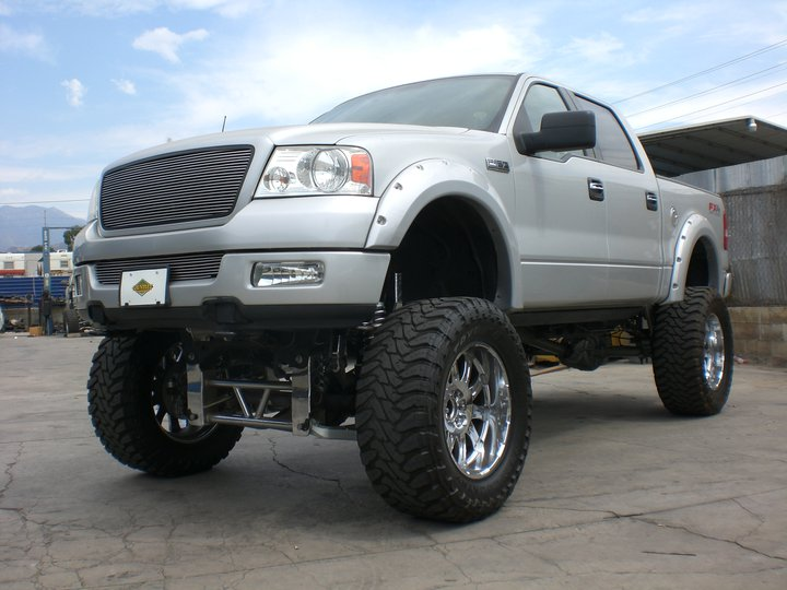 6 Inch Lift Kit For Ford F150 4X4 >> Ford F150 10 12 Inch Suspension Lift Kit 2004 2008