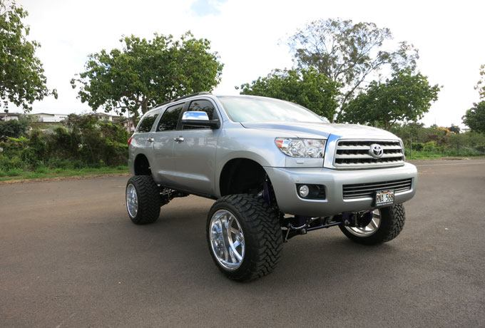 N on 2004 Toyota Sequoia Lifted