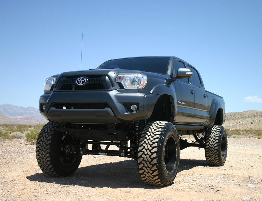 Toyota Tacoma Lifted >> 2005 2017 Toyota Tacoma 10 12 Inch Bulletproof Lift Kit