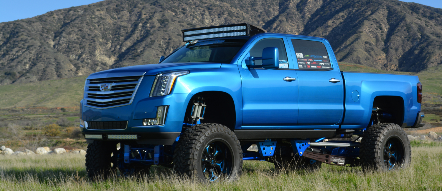 Chevrolet Escalade Lift Kit
