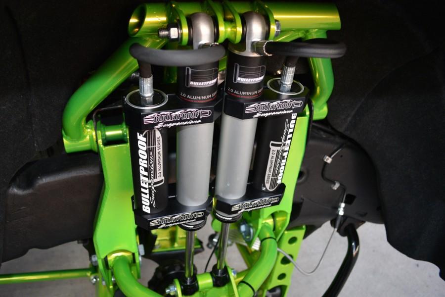 Billet steering arm rebuild kit - Bulletproof Suspension ...