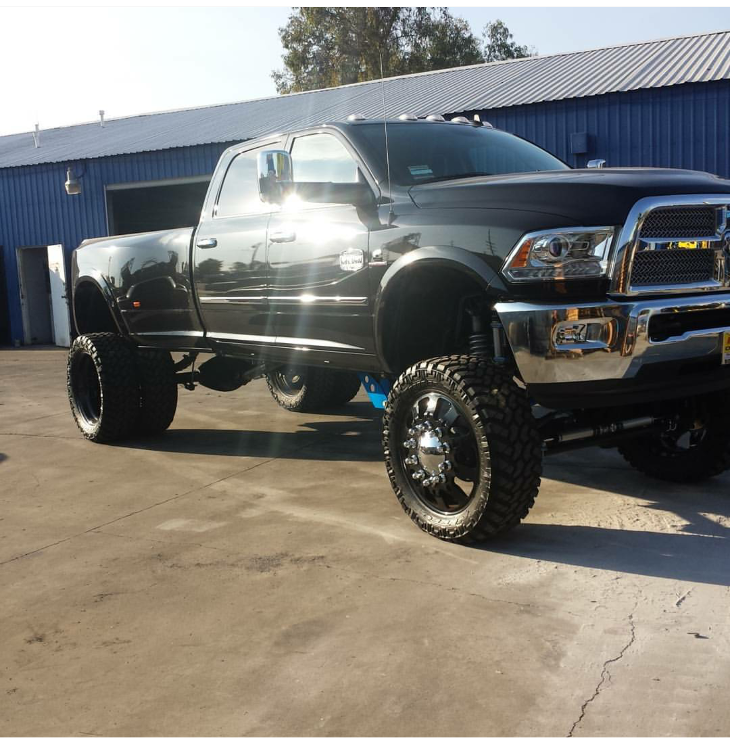 Lifted Ram 3500 >> Dodge Ram 2500 3500 10 12 Inch Lift Kit 2014 2018