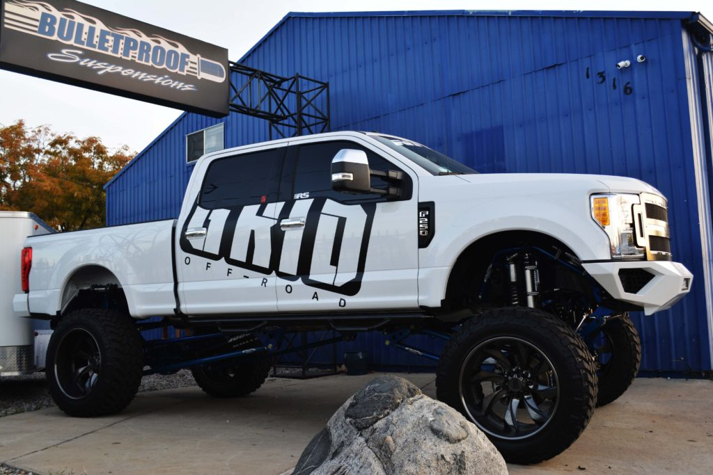 f250 lift ford f350 inch kit suspension kits duty super bulletproof long bed cab crew 4wd regular short