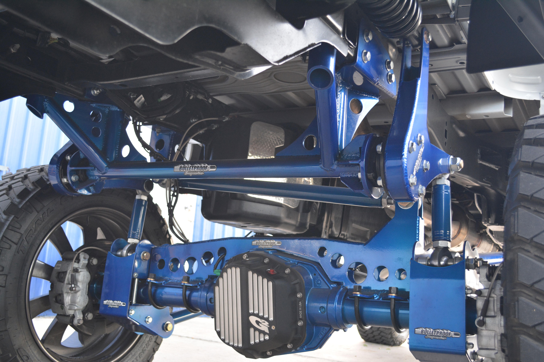 Bulletproof Suspension's 6-12 Inch Suspension Lift Kit for ...