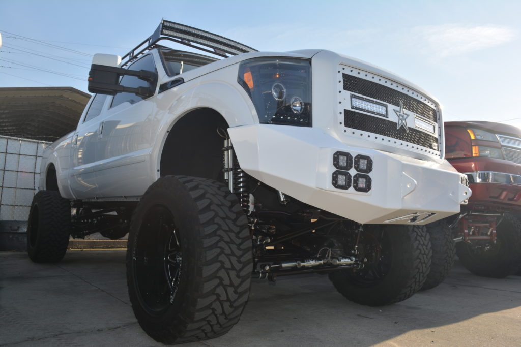 "Bulletproof Lift Kit >> Ford F-250/350 12"" 4wd rear cantilever 4 link system"