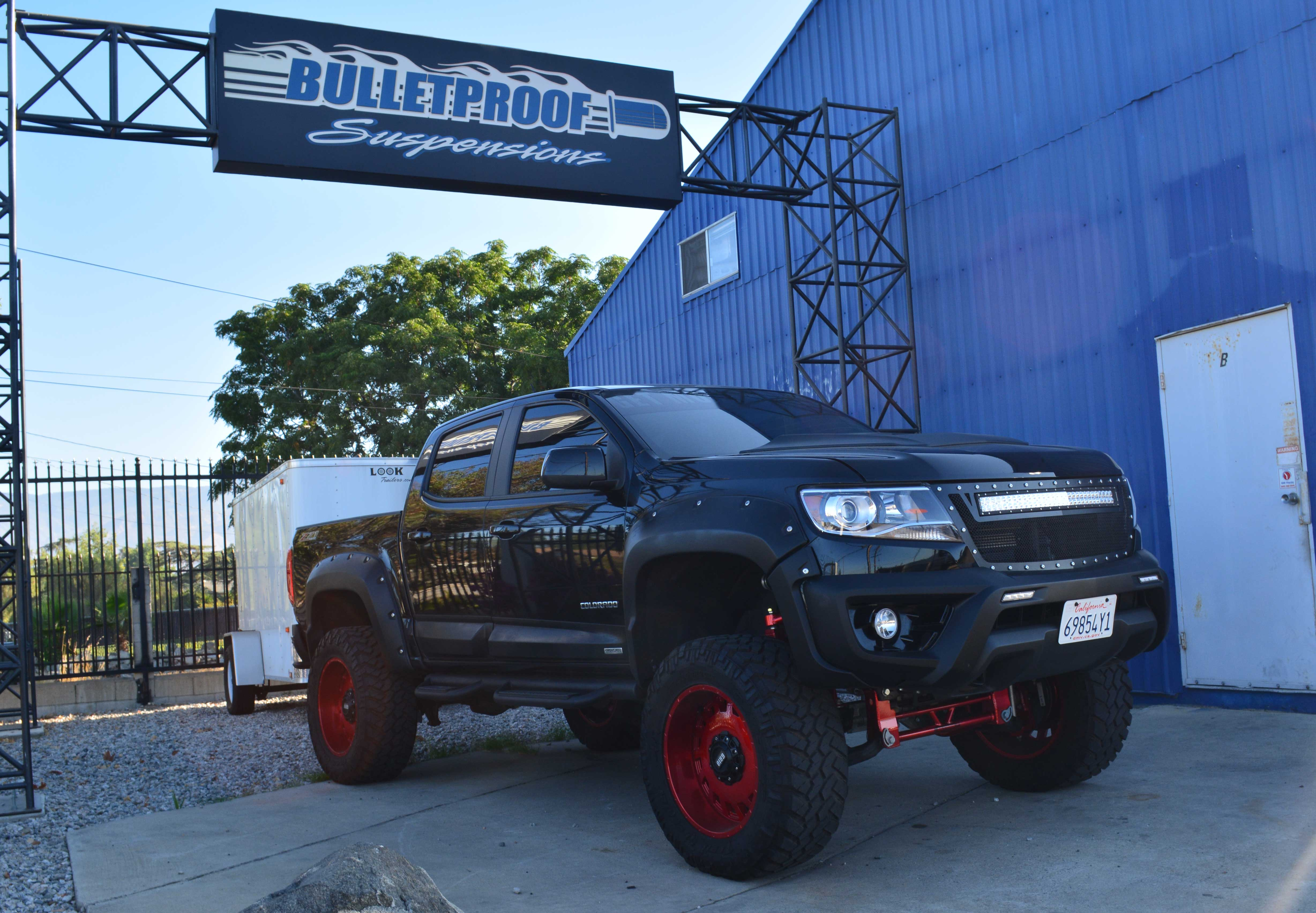 Bulletproof Suspension's 6-12 Inch Suspension Lift Kit for ...