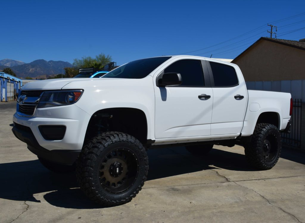 F150 2 5 likewise Watch besides 2000 Gmc Sierra 3500 Monster Truck moreover 2015 Chevy Colorado Turbo Kit likewise 156547 Largest Tire Size On Stock 20 With A 225 Levellift. on 2015 gmc canyon lift kit