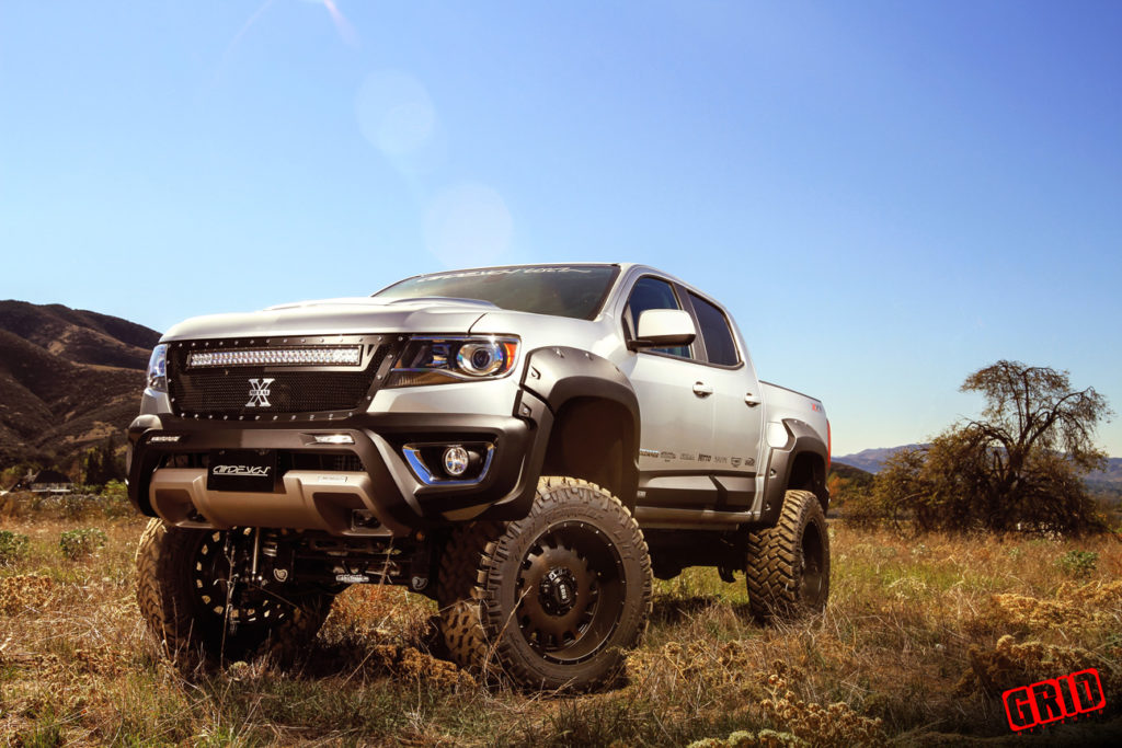 chevrolet colorado canyon 6 8 inch lift kit for 2015 up models. Black Bedroom Furniture Sets. Home Design Ideas