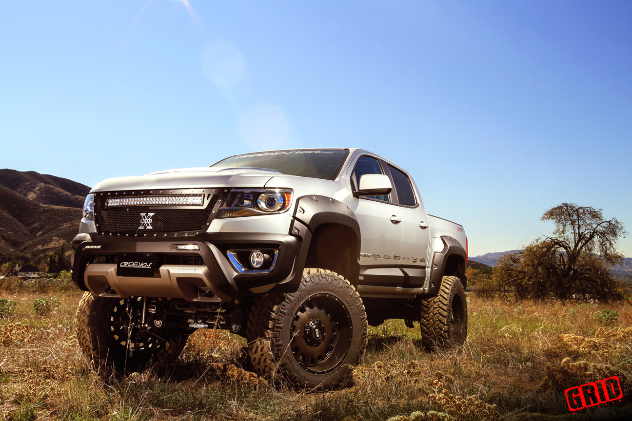 Bulletproof Lift Kit >> Chevrolet Colorado Canyon 6-8 Inch lift kit for 2015 up models