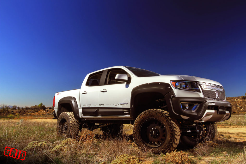 Chevrolet Trax Activ likewise Icon Inch Lift Kit Stage For Gm Colorado Canyon together with C D Da Ec Be Ded Chevy X Lifted Chevy likewise Canyon Gmc Rough Country Suspension Lift In Moto Metal Mo Machined further Chevrolet Colorado Z Crew Cab Long Bed Wd For Sale. on 2016 chevy colorado lift kit