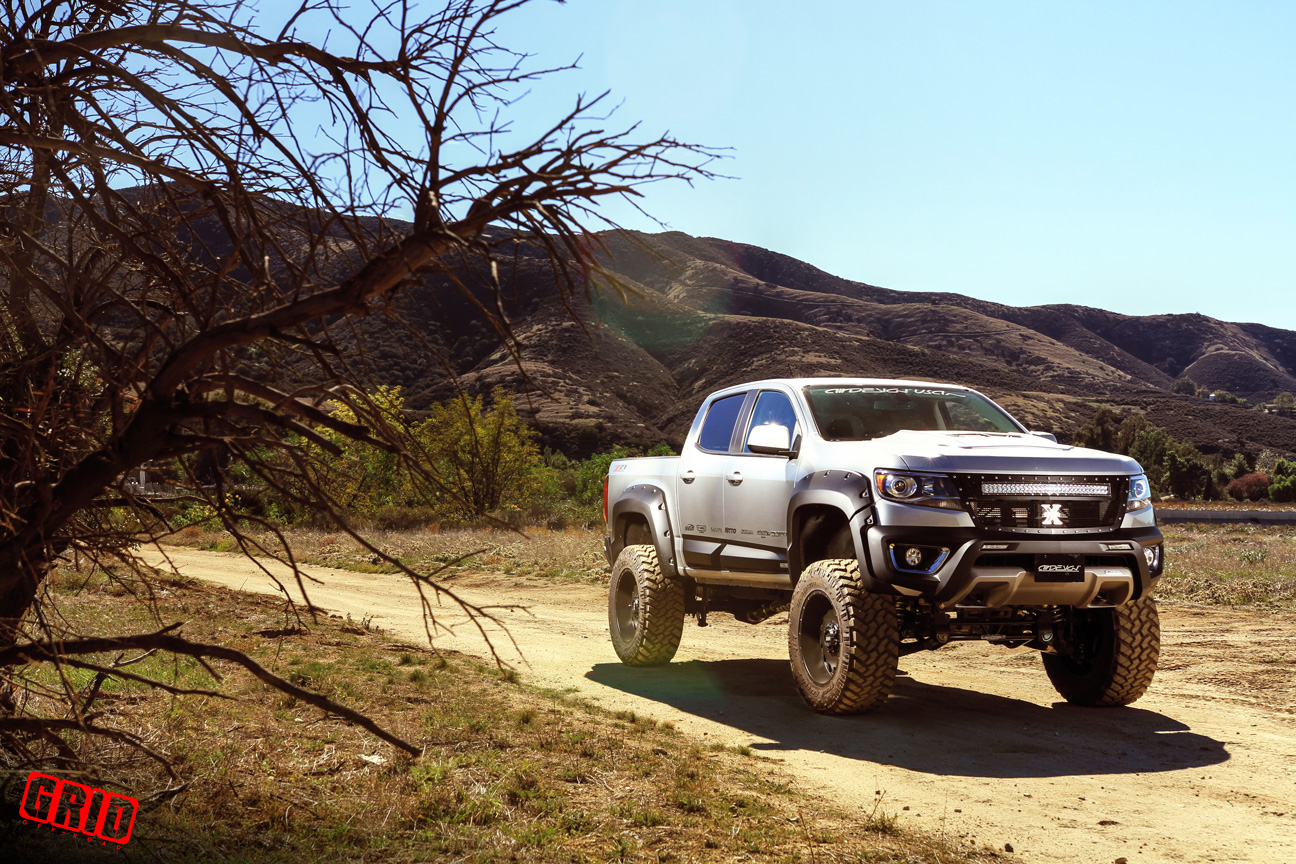 Colorado chevy colorado 2.5 lift : Chevrolet Colorado Canyon 6-8 Inch lift kit for 2015 up models