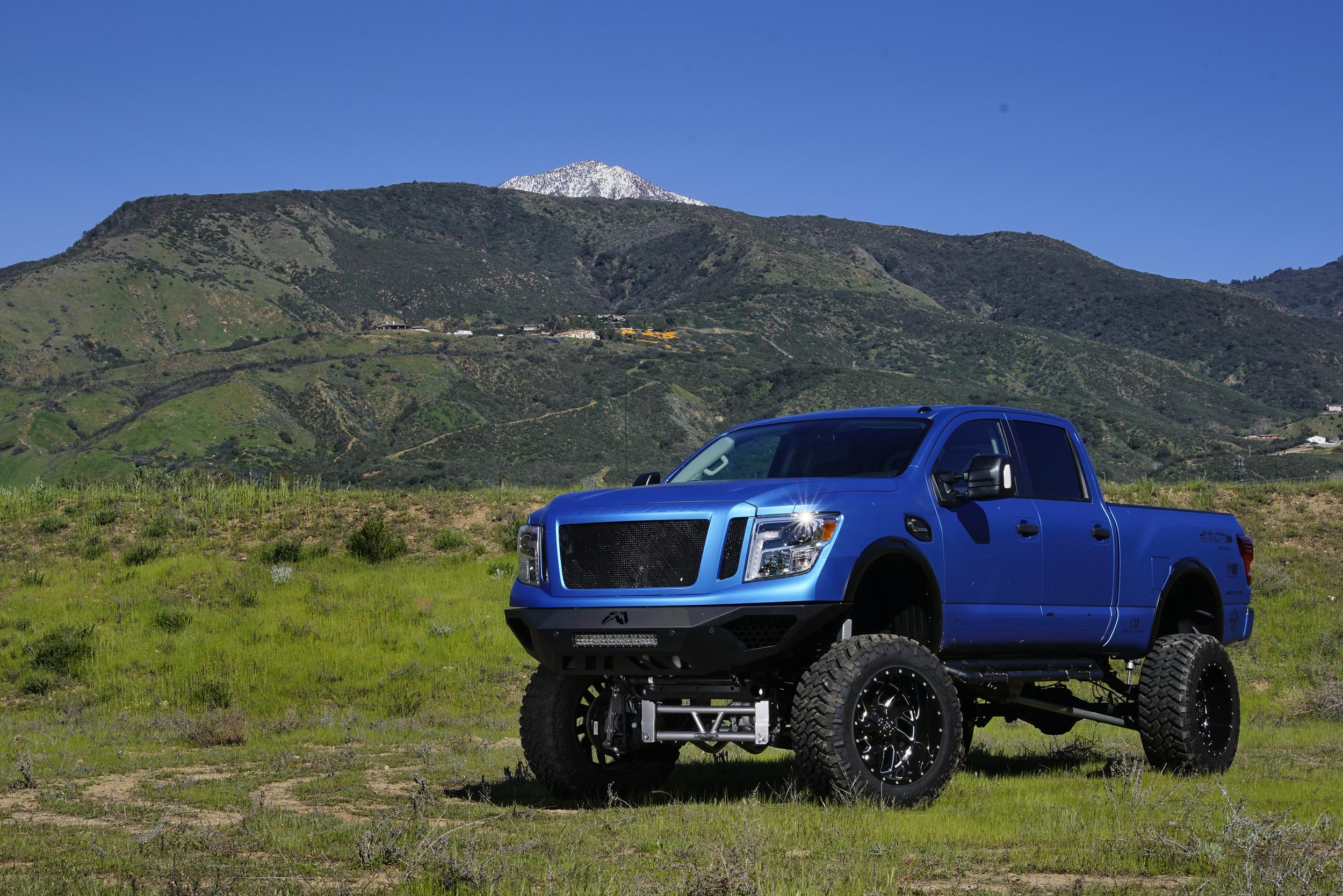 Bulletproof Lift Kit >> Nissan Titan XD 10-12 Inch Lift Kit 2016 Up - Bulletproof ...