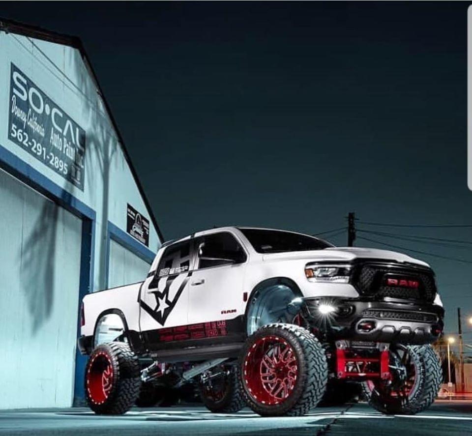 Bulletproof Lift Kit >> Dodge Ram 1500 10-12 Inch Lift Kit 2019 up - Bulletproof Suspension - A Suspension Lift Manufacturer